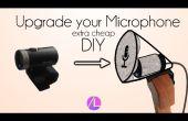 Mise à niveau de votre Desktop Microphone (ultra Cheap)