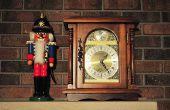 Réglage de l'heure sur un mouvement d'Horloge Hermle Quartz 1217
