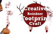 Renne créative empreinte Craft en 8 étapes faciles !