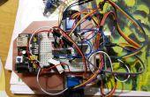 Robot Attiny2313 avec Bluetooth HC06 et moteurs pas à pas