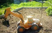 Excavatrice jouet FPV Internet contrôlée