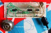 Exécutez le moteur d'axe de disque dur à l'aide de IC 555 + 4017 + L293D