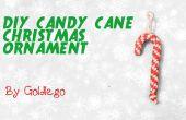 Ornement de Noël bricolage Candy Cane