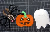 Artisanat de papier LED Halloween