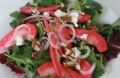 Salade de pommes de rose