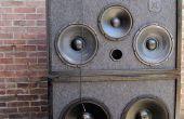 Haut-parleur extérieur de 3 voies sonorisation 12 v