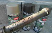 Construire votre propre Geocache Tube contenant imperméable