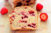Gluten Free Strawberry Cake pain