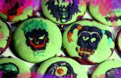 Suicide Squad menthe chocolat crâne Cookies