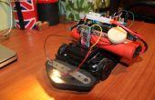 Arduino RC voiture bluetooth con flasque arrière du moteur