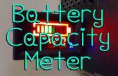 Installation d'une jauge de capacité de batterie.