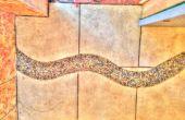 Le secret d'un plancher de tuiles de salle de bains rivière pour 19,50 $