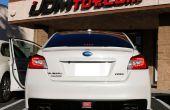 Installation d'éclairage IJDMTOY Subaru JDM LED arrière brouillard