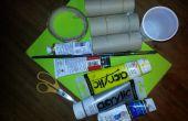 Faire un bateau en papier toilette pas pour la voile