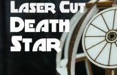 Découpé au laser Etoile de la mort