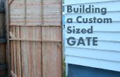 Comment construire une coutume taille porte