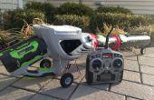Remote Control Robot voiture RC Jet - souffleur de feuilles