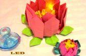 Fleur de Lotus de LED