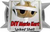 Bricolage en carton Mario Kart bleu Shell trophée