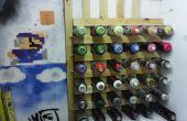 La peinture en aérosol / canettes