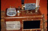 Le THEATRUM MAGICUS - un Steampunk Media Player pour la musique, des Photos et des films