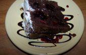 Gâteau framboisier au chocolat