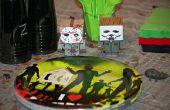 Zombie / soirée d'anniversaire sur le thème de film d'horreur jeux