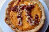 Savoureux de la patate douce avec Bacon croustillant Pi Pie