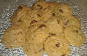 Couverts au chocolat Raisin Peanut Butter Cookies