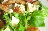 Comment faire la salade César