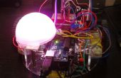 Arduino voix de Robot avec LED RGB commandé