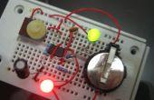 555 timer LED clignotant