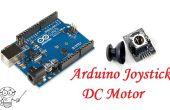 Contrôle de moteur à courant continu Arduino Joystick 2