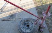 Comment utiliser un démonte-pneu.