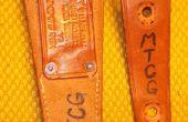 Couteau gaine réparation / Modification