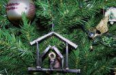 Soudé clouer arbre de Noël ornement