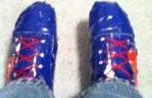 Comment redimensionner une paire de chaussures de Duct Tape