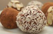 Les boules de rhum / romkugler / rhum truffes