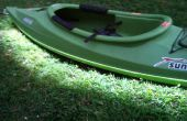 Kayak bricolage conduit feux