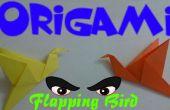 Origami battement Bird - Tutorial facile