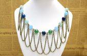 DIY perle Chic et chaîne Fringe collier