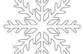 Comment faire un flocon de neige parfait Kirigami papier en 6 étapes faciles