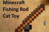 Jouet pour chat canne à pêche Minecraft - longueur réglable « ligne » !
