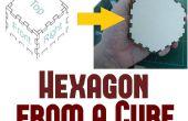 Comment faire une boîte hexagonale du cuboïde Plans