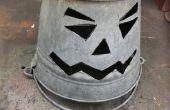 Lanterne de seau Halloween