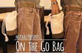 Sur le sac Go (jamais perdre plus jamais vos trucs!!)