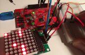 Flappy hommage oiseaux pour Arduino et 64 LEDs