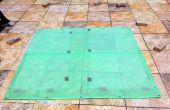Tapis de sol bricolage Simple tente + couche imperméabilisante facultative