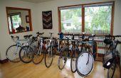 Support de stationnement vélo intérieur