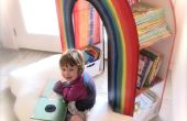 Construire une étagère de livre « READING RAINBOW »
